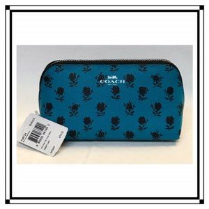 Coach Leather Cosmetic Bag - NWT